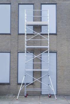 KiezGerüst KG 1030- AS 075 schmal - Arbeitshöhe: 10,30 m - erweiterbar - STANDARD