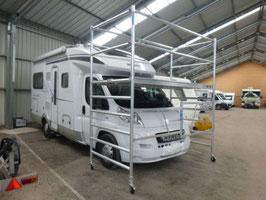 KiezGerüst AL 385 - 135 - erweiterbar - Caravan