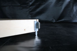 Bordbrettsatz aus Holz schmal