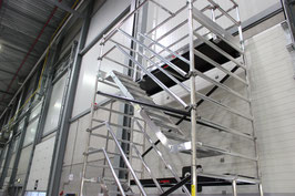 Treppengerüst 10,30 m Arbeitshöhe