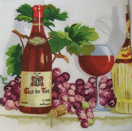 "Салфетка ""Виноград с вином"""