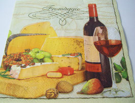 "Салфетка ""Вино и сыр"" вариант 2"