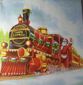 "Салфетка ""Новогодний поезд"""