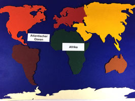 BM233: Kontinente aus Filz