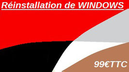 Réinstallation de WINDOWS