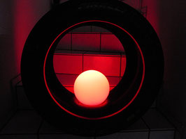 Rennreifen/Slick Stehlampe, DTM, GT 3, Formel 1 ,