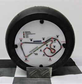 """Sachsenring Rennstrecken Deko  Moto GP """"Minislick"""""""