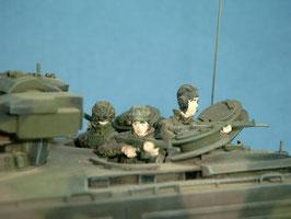 Marder-Besatzung (3), hinterer Kampfraum