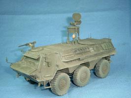 Aufklärungsradar Rasit auf Transportpanzer 1 Fuchs