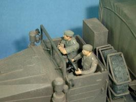 LKW-Besatzung
