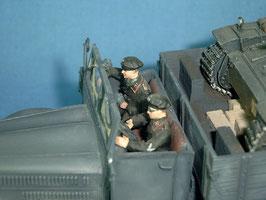 LKW-Besatzung Panzertruppe
