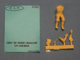 Chef De Bord Francais En Chemise