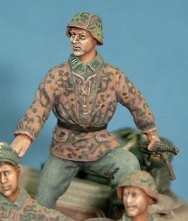 Grenadier aussteigend