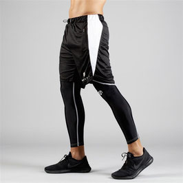 NKMR Tech Shorts Black