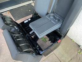 VW T6 Beifahrer-Doppelsitzbank mit Klapptisch Stoff