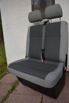 VW T5 Beifahrer-Doppelsitzbank TIMO