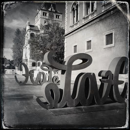 München im Quadrat S/W A 008