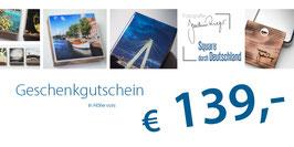 Geschenkgutschein im Wert von 139,- €