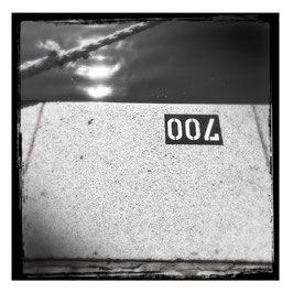 Bremerhaven S/W im Quadrat 4
