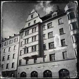 München im Quadrat S/W A 005