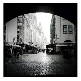 Dresden S/W im Quadrat 3