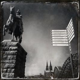 Köln im Quadrat S/W A 002