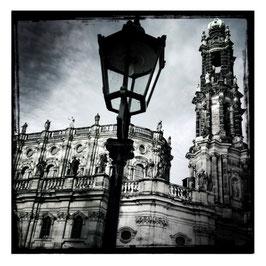 Dresden S/W im Quadrat 4