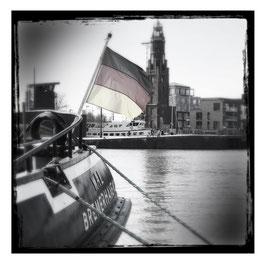 Bremerhaven S/W im Quadrat 5