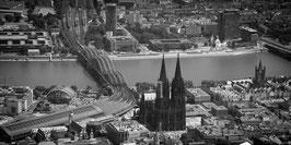 """Köln von Oben """"Large""""-004"""
