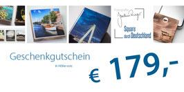 Geschenkgutschein im Wert von 179,- €