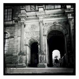Dresden S/W im Quadrat 12