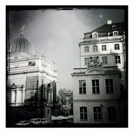 Dresden S/W im Quadrat 5