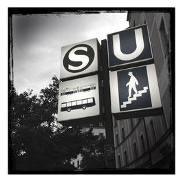 München im Quadrat S/W 011