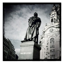 Dresden S/W im Quadrat 2