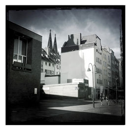 Köln im Quadrat S/W 002