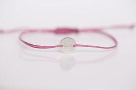 Armbändchen Danke (pink)