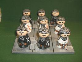 jeu de morpion Templiers
