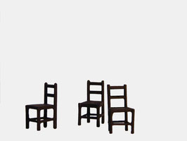 3 chaises