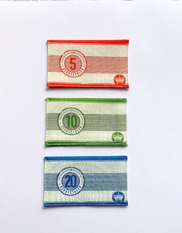 Spielgeld Schatztaler-Scheine