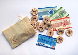 Spielgeld-Set Schatztaler