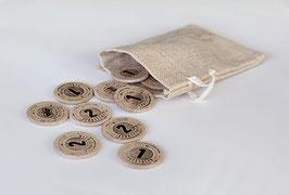 Spielgeld Schatztaler-Münzen