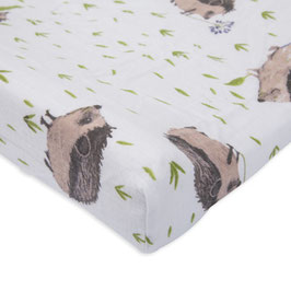 Brushed Changing Pad Cover - Hedgedog