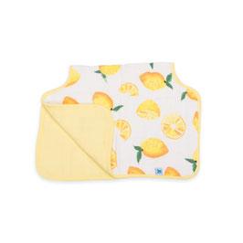 Cotton Muslin Burp Cloth  - Lemon