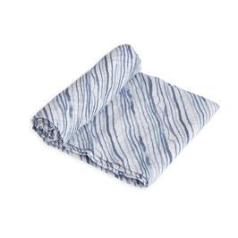 Cotton Muslin Swaddle Single - Ripple