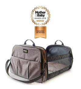 Reisetasche - POD Travel Bag - Grey Linen