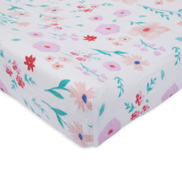 Brushed Changing Pad Cover - Morning Glory