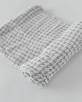 Deluxe (Bamboo) Muslin Swaddle Single- Houndstooth