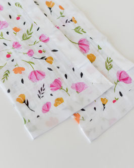 Cotton Muslin Security Blanket - Berry & Bloom