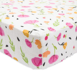Brushed Crib Sheet - Berry & Bloom