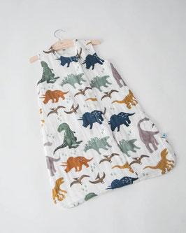 Cotton Muslin Sleeping Bag - Dino Friends